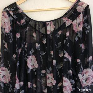 Lane Bryant Floral Blouse - 22/24